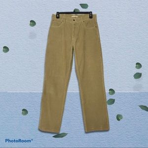 L.L. Bean Natural Fit Men's 34x32 Corduroy Pants